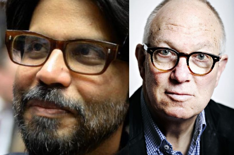 From left: Pankaj Mishra & Ian Buruma